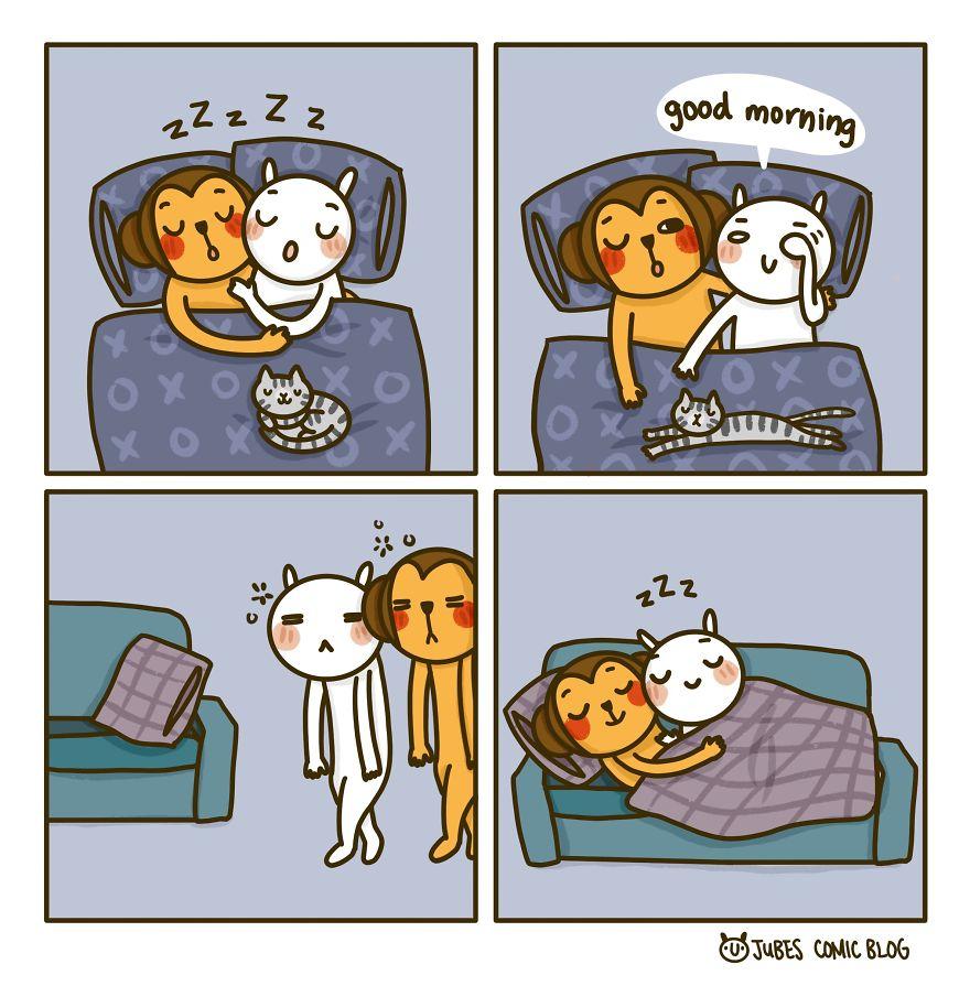 Sleep Everywhere In The House