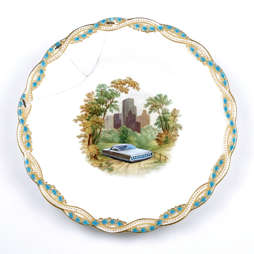 Plate Palm Reading