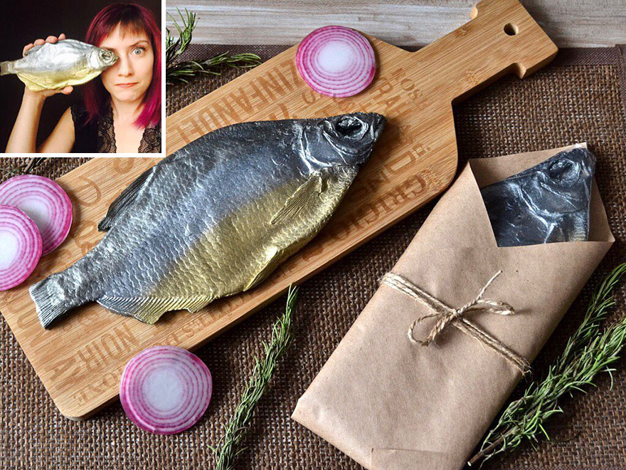 Russian Master Creates Soap Which Look Like Real Food And Drinks