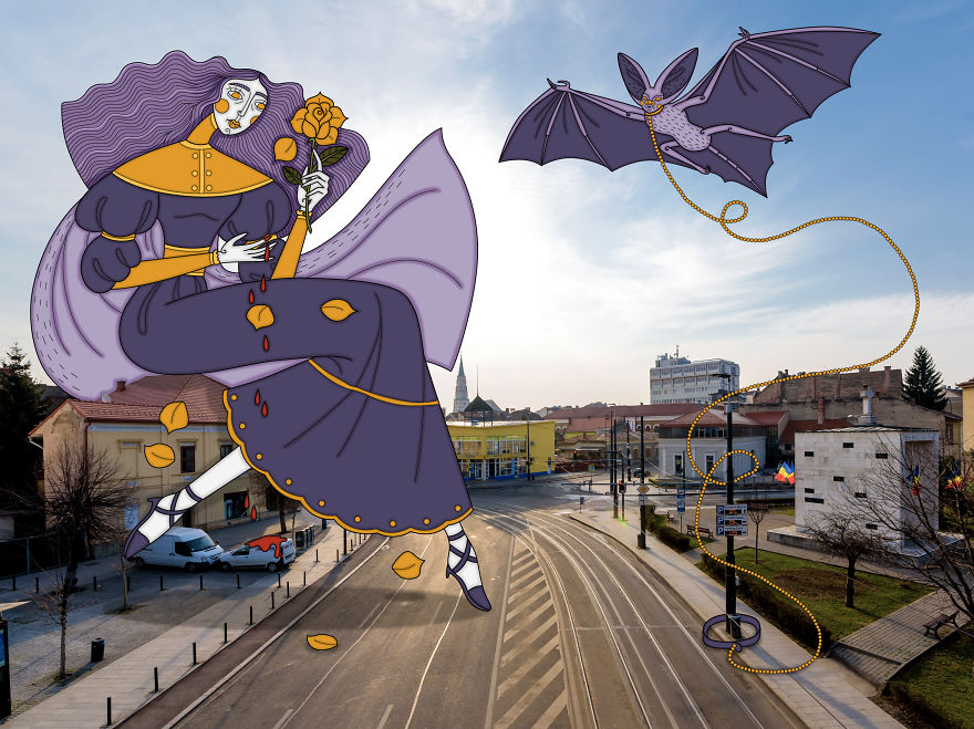 Empty Streets From Our City Become Illustrator's Artwork