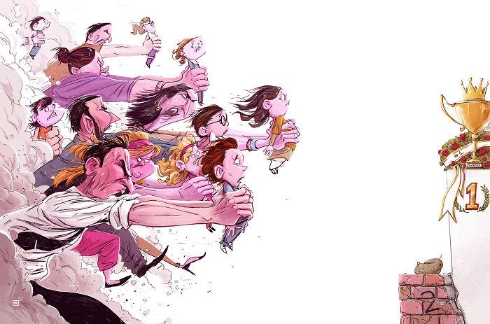 14 Ilustrasi Tentang Permasalahan Hidup Dan Isu-Isu Sosial