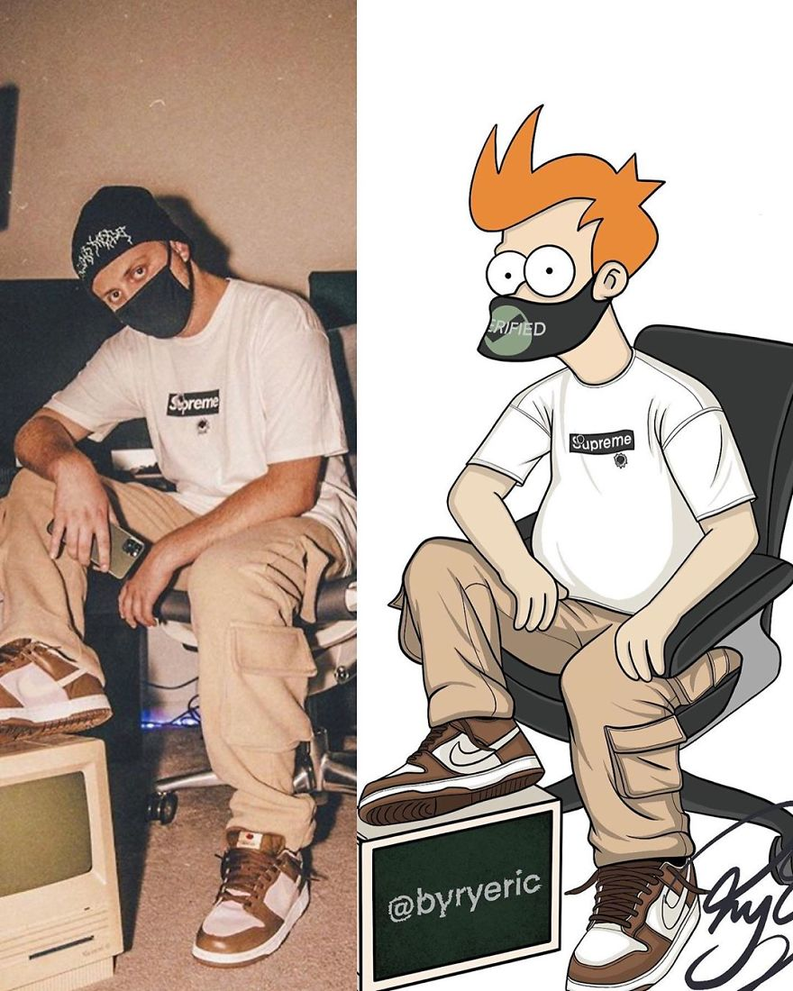 Philip J. Fry From Futurama