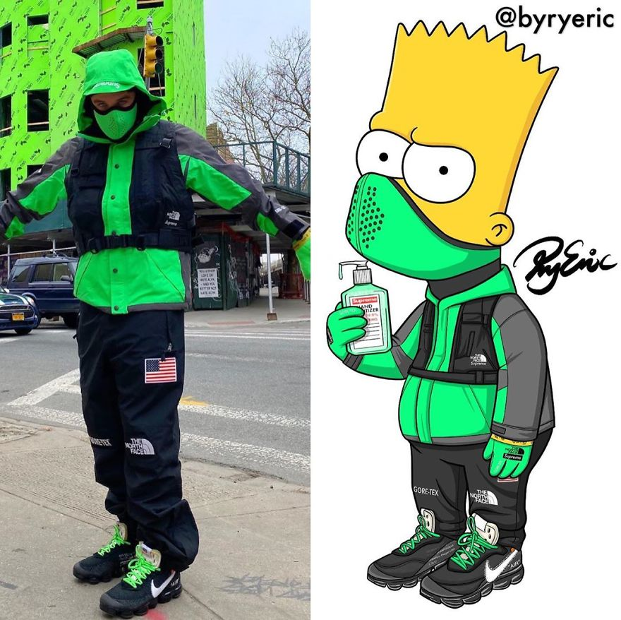 Bart Simpson From The Simpsons