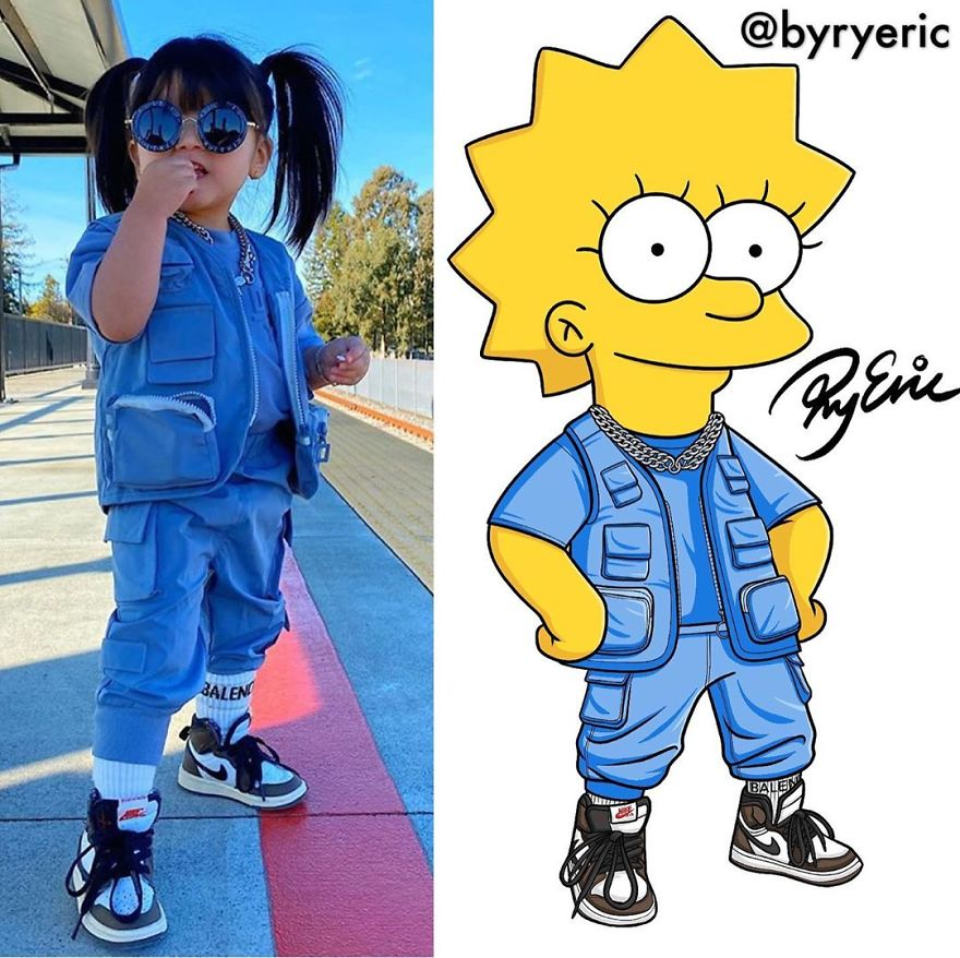 Lisa Simpson From The Simpsons