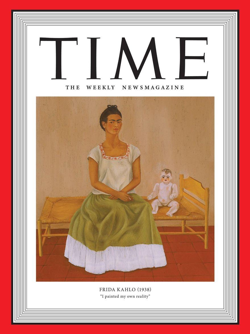 1938: Frida Kahlo