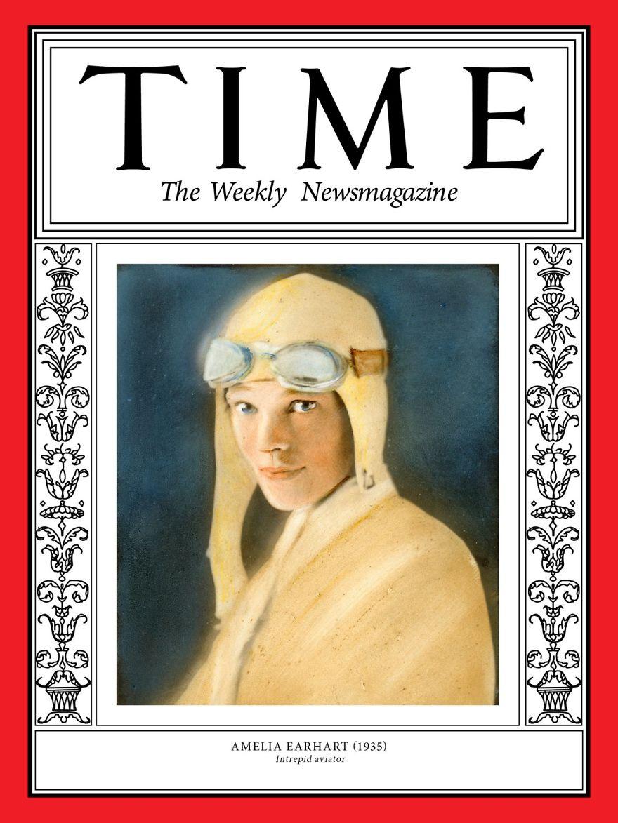 1935: Amelia Earhart