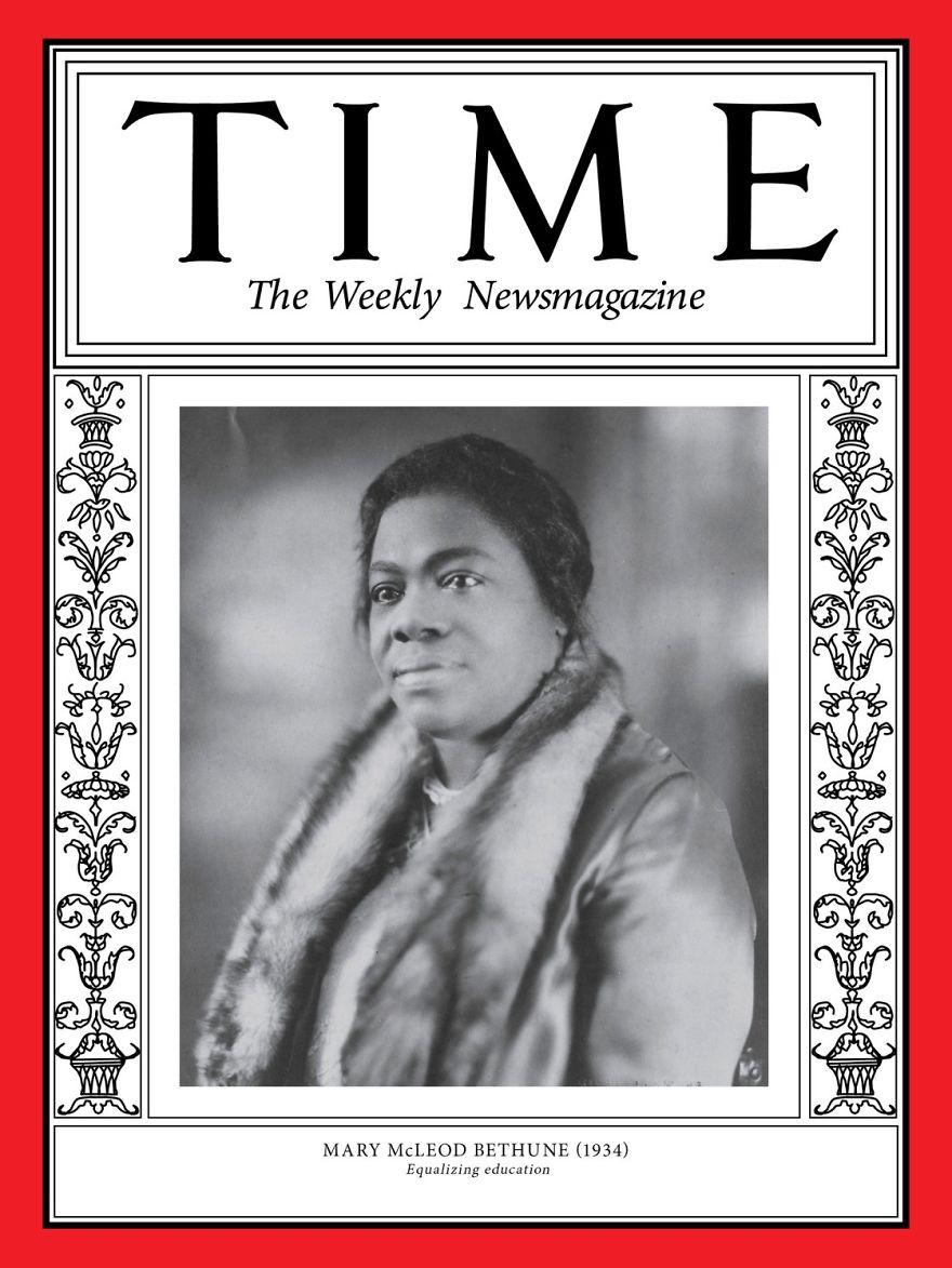 1934: Mary McLeod Bethune