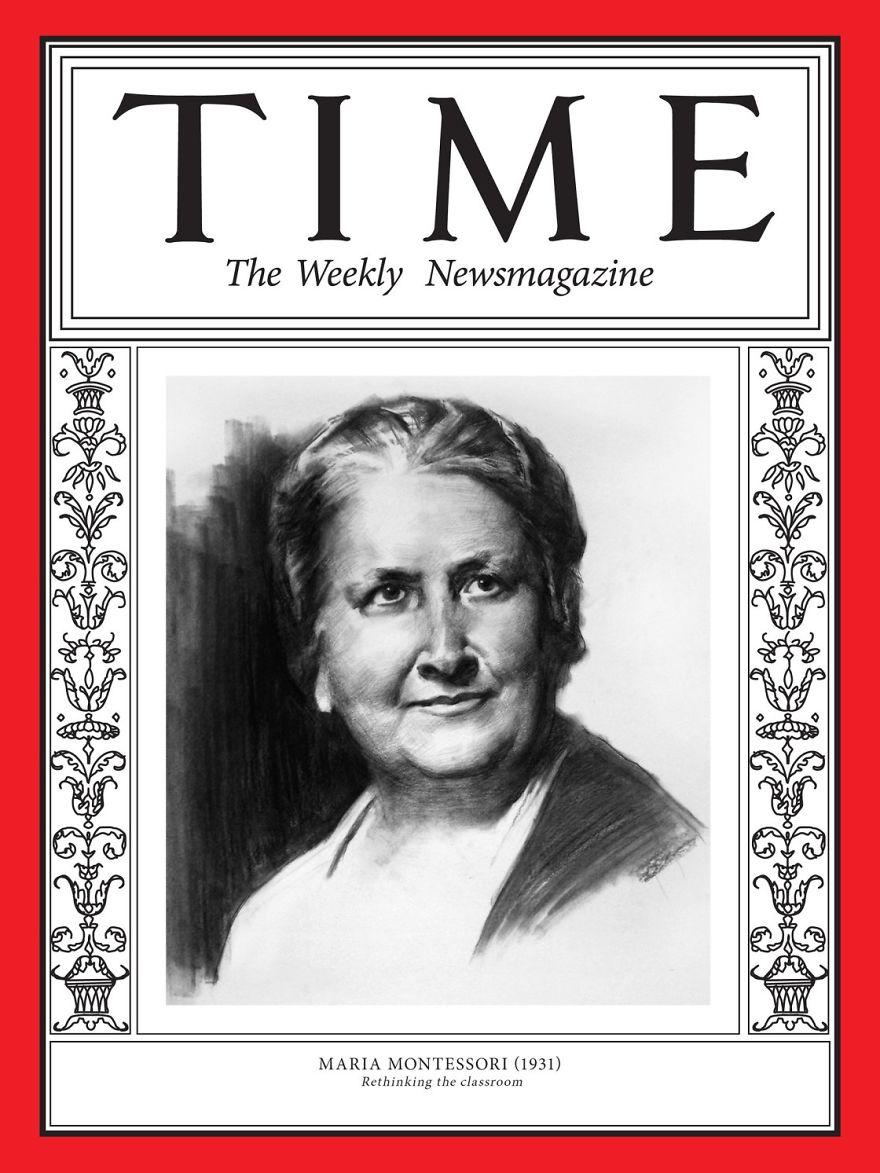 1931: Maria Montessori