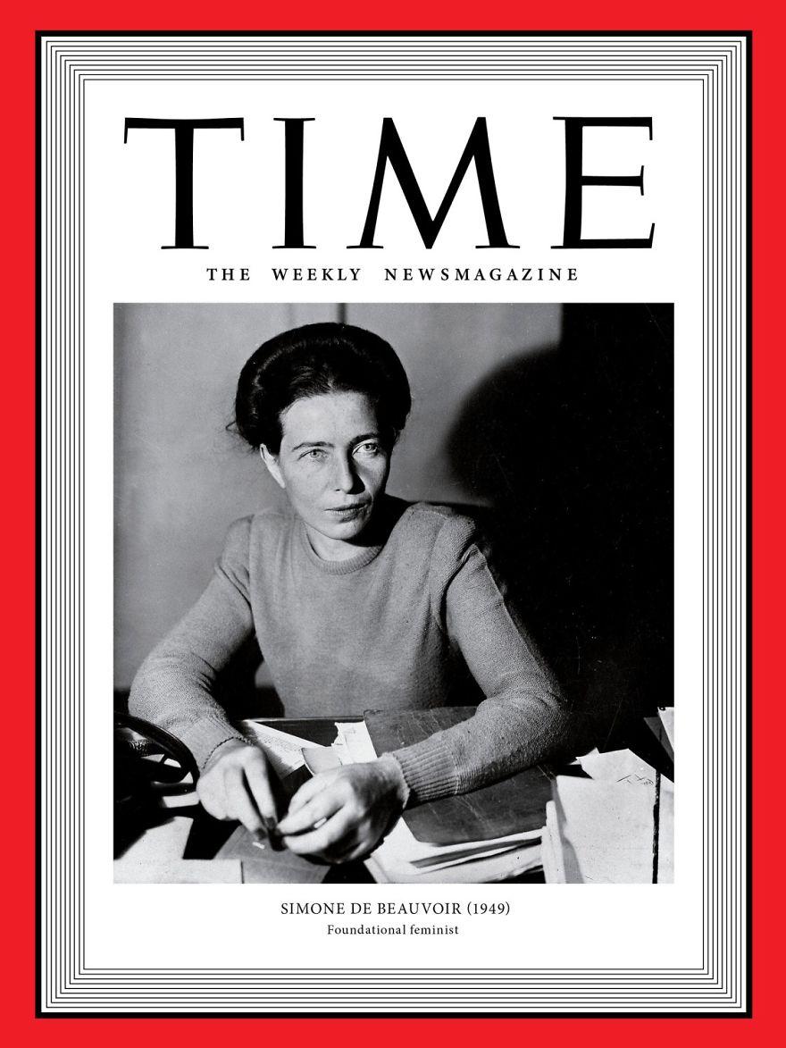 1949: Simone De Beauvoir