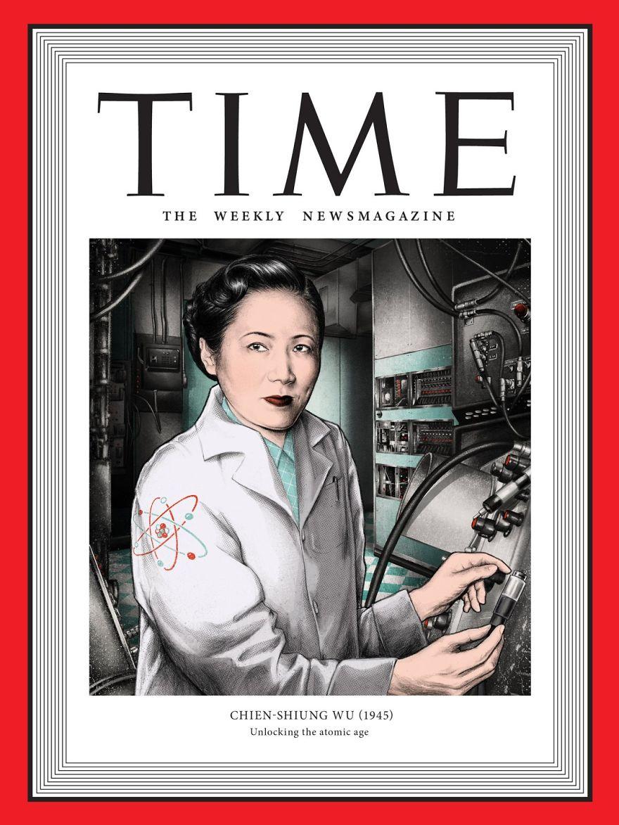 1945: Chien-Shiung Wu