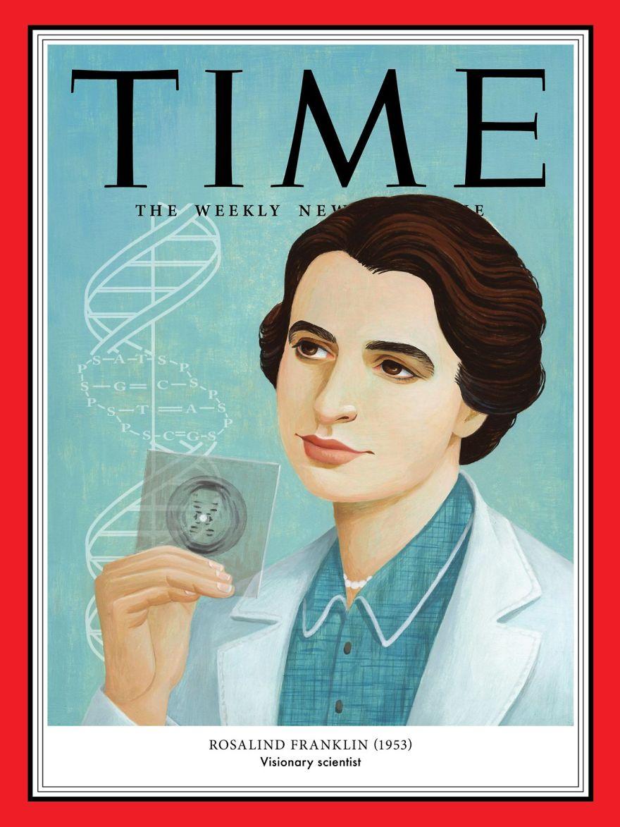 1953: Rosalind Franklin