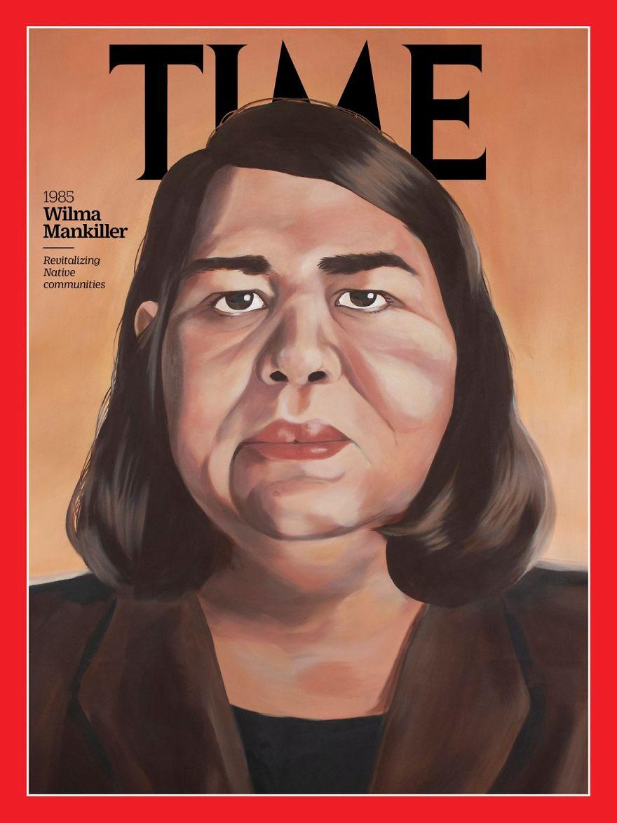 1985: Wilma Mankiller