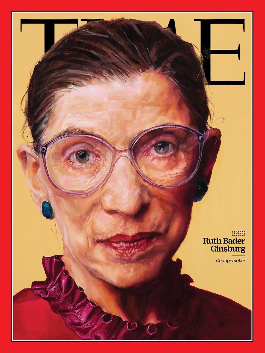 1996: Ruth Bader Ginsburg