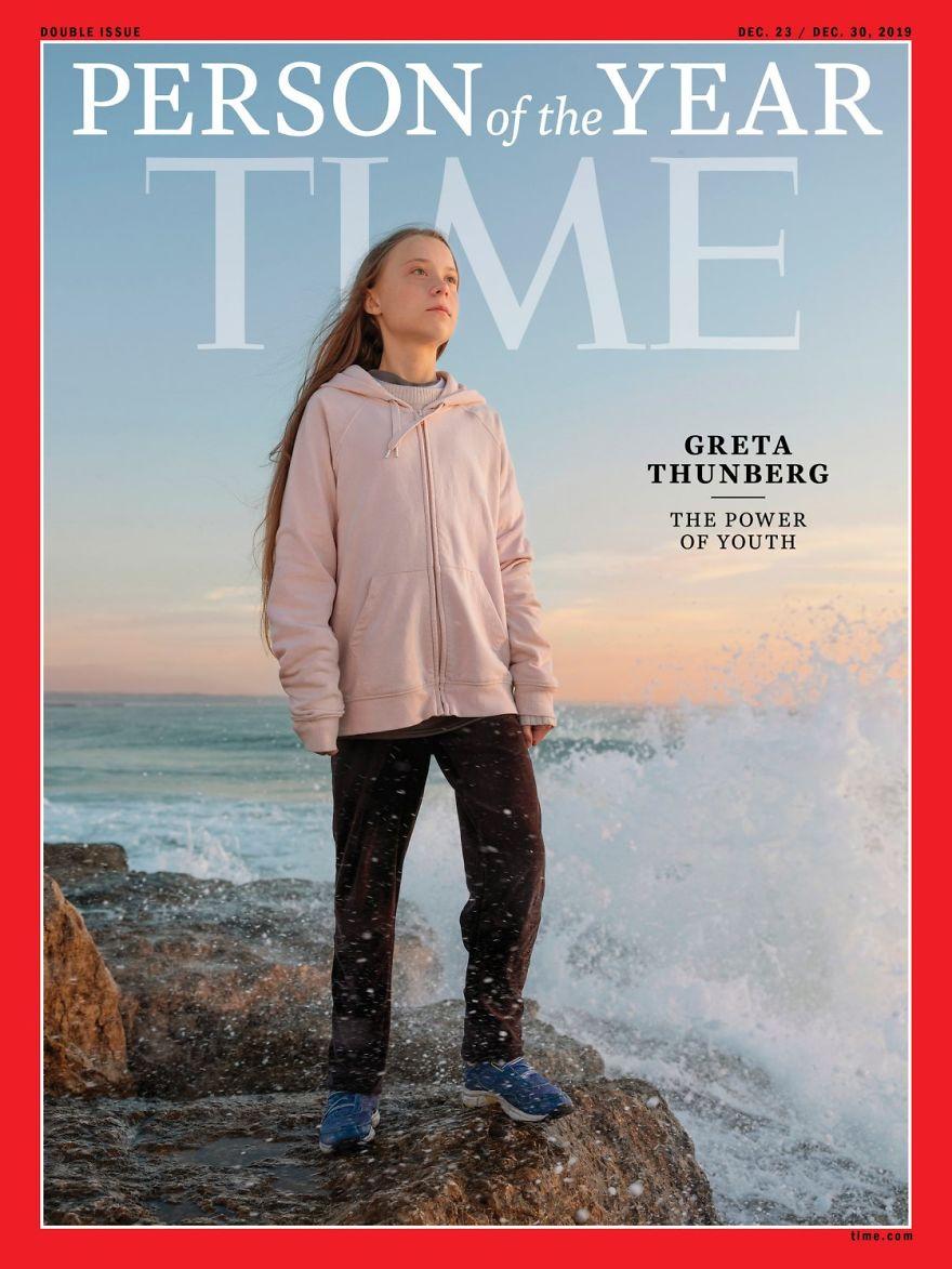 2019: Greta Thunberg