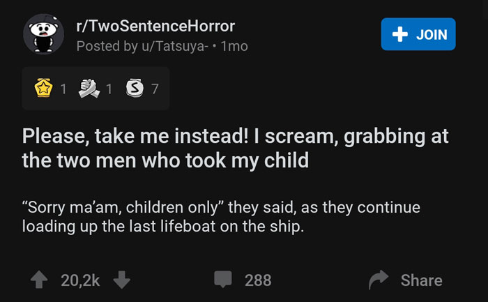 Scary-Two-Sentence-Horror-Stories