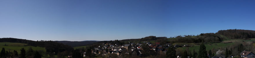 Small Village In Germany, A Bit More Quieter Than Usual (From Our Window)