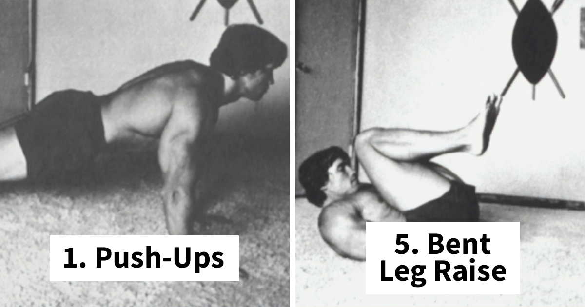 Arnold Schwarzenegger Shares His 9-Step Stay-At-Home Workout Routine
