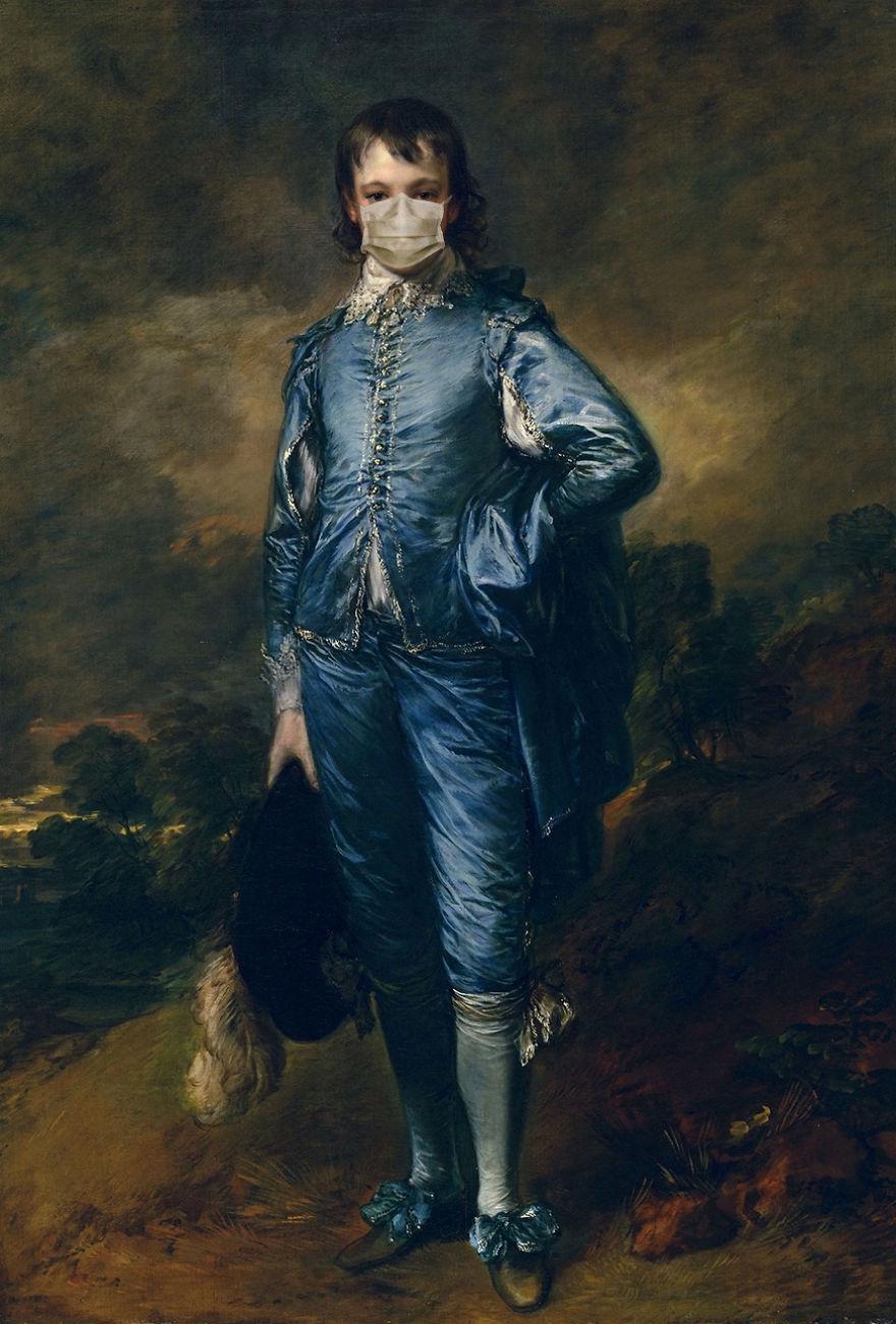 The Blue Boy By Thomas Gainsborough, 1770