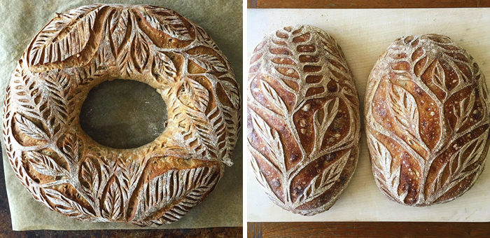 110k People Are Following This Baker Who Creates Intricate Designs Out Of Homemade Bread