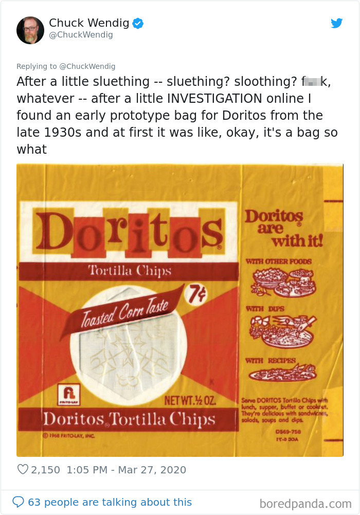 Writer Can't Find The Origin Of The 'Doritos' Name, Makes Up His Own Creepy Backstory