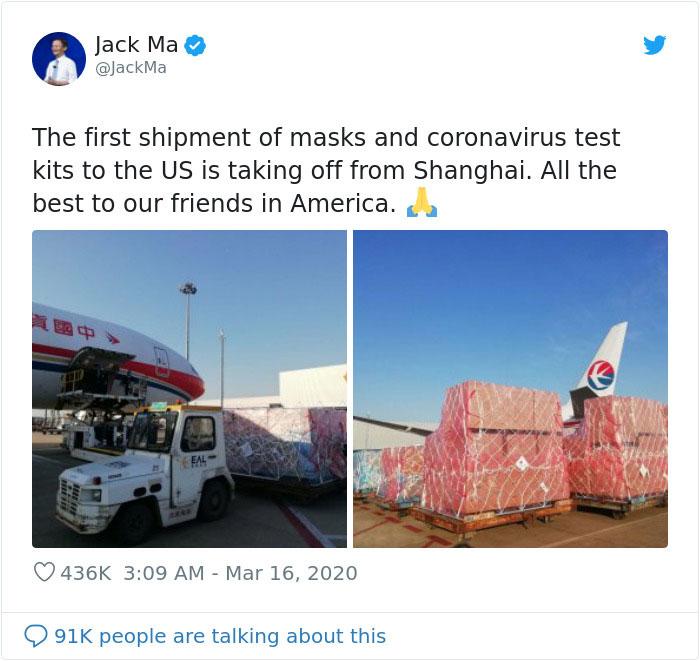 Shipment Of Masks