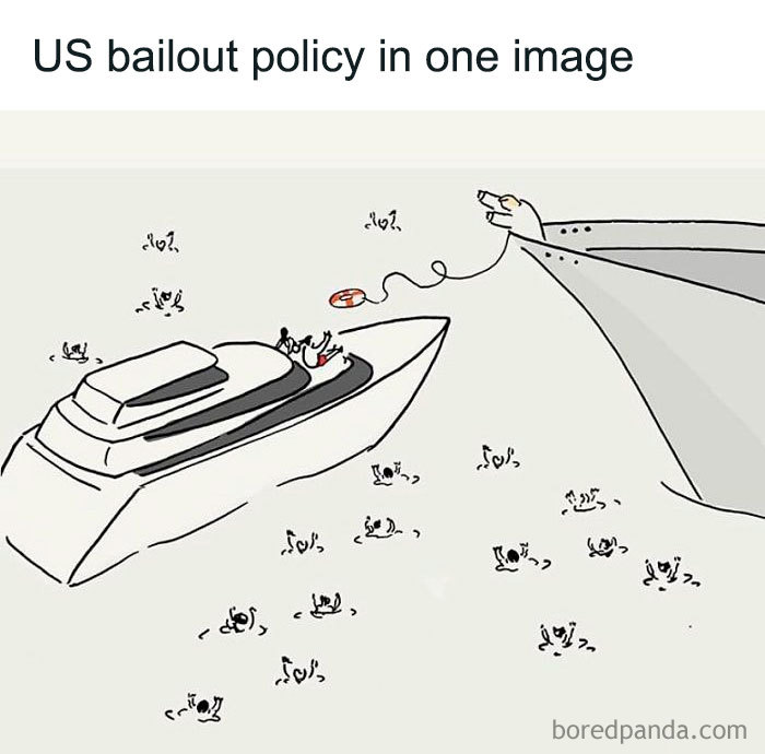 Us Bailout Policy In One Image