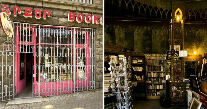 I Photographed A Bookstore That Looks Like A Hogwarts Tower Room
