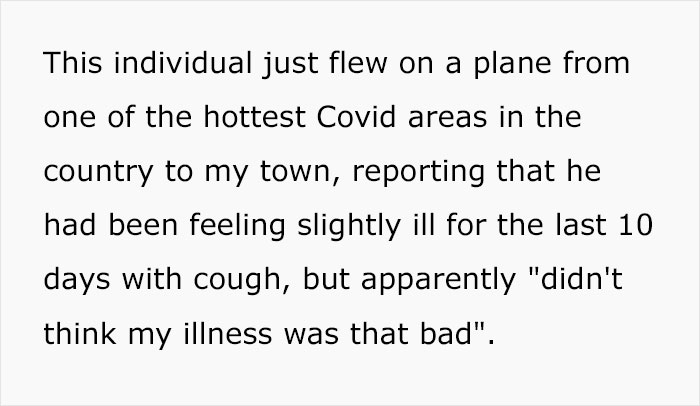 Angry Radiologist Asks To Share His Message After A Potential Coronavirus Carrier Takes A Plane Full Of People