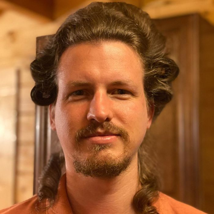 Boyfriend Lets His Quarantined Hairstylist GF Experiment With His Hair And Here's What She's Done So Far