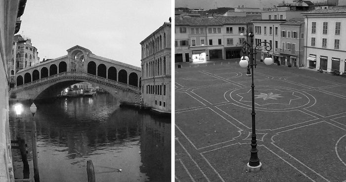 I Captured The Empty Streets Of Italy During Quarantine Using Webcams Around The Country (40 Pics)