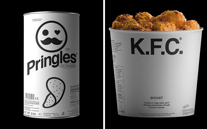 These 53 Brand Products Were Redone In Monochrome And They Look Surreal