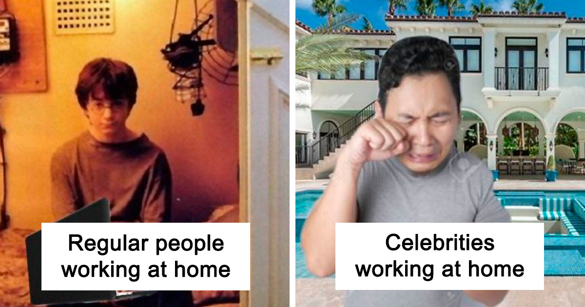 People Are Mocking Celebrities In Quarantine With 27 Hilarious Memes - bored panda