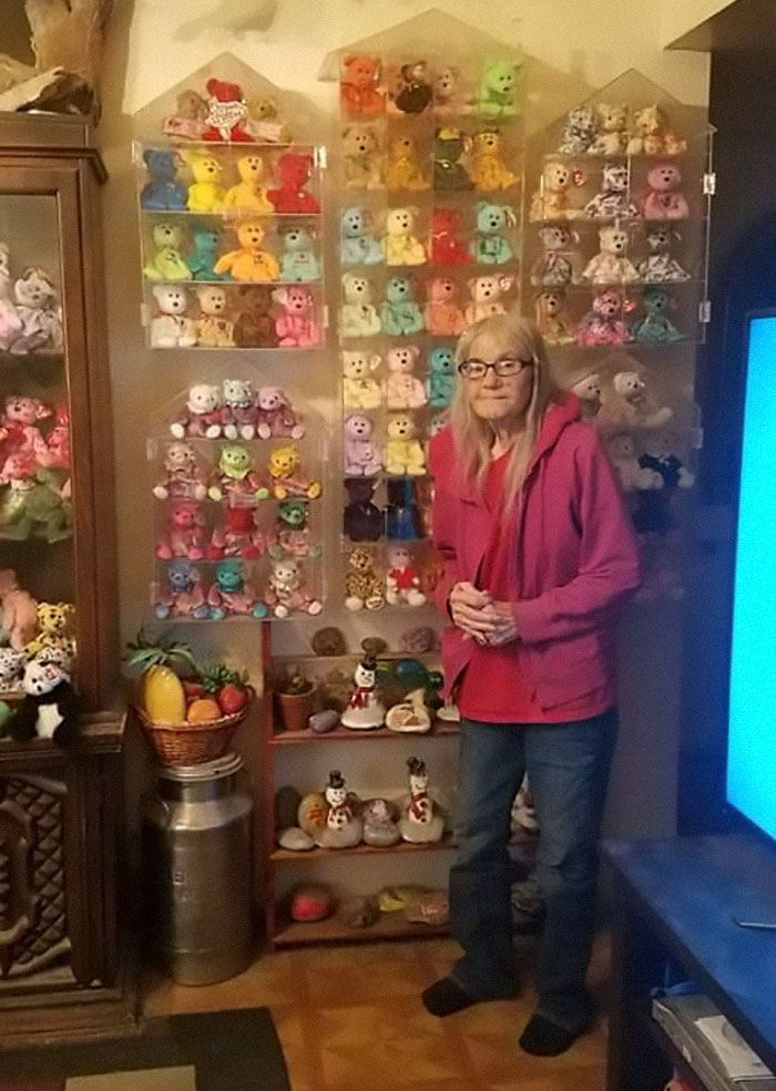 Over The Last 10 Years Of Retirement My Mom Goes To Goodwill Every Wednesday For Seniors Discount Day. She Is So Proud Of Her Collection And Said I Could Share It For Her Because She Don't Have Facebook On Her 10 Year Old Flip Phone