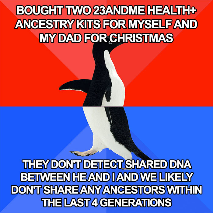 """Person """"Destroys Their Family"""" After Buying An Ancestry Kit And Learning Their Dad Isn't Their Biological Father"""