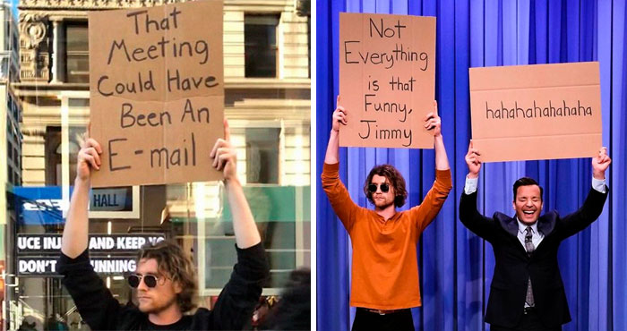 'Dude With A Sign' Has 5.7 Million Followers For Dropping Truth Bombs On Signs In Public