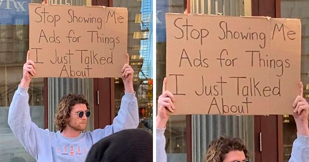 Dude Protests Annoying Everyday Things With Funny Signs (29 New Pics)