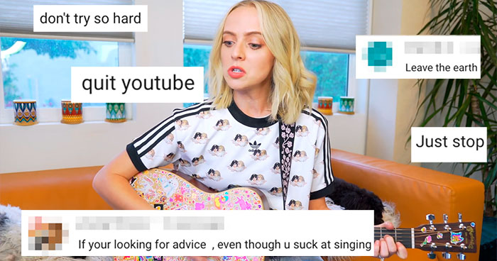 """I Wrote A Song Using Only Hate Comments:"" Woman Trolls Haters With A Hilariously Good Song"