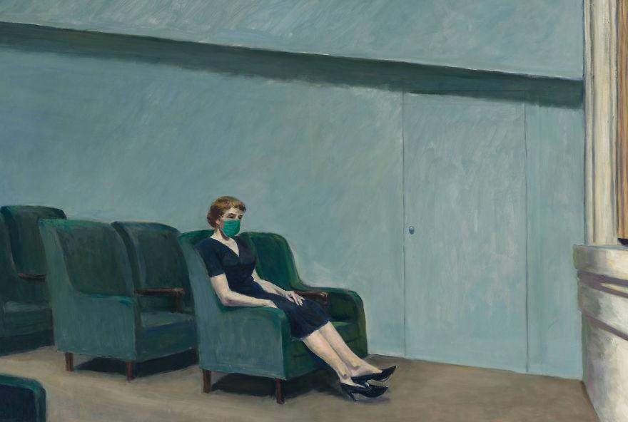 Intermission By Edward Hopper, 1963