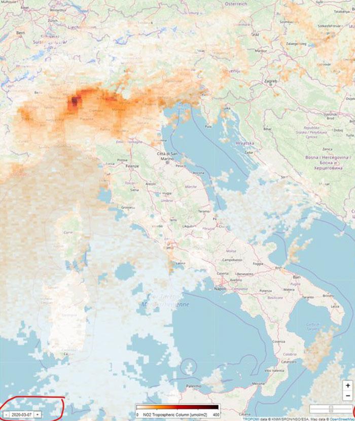 Снижение уровня загрязнения