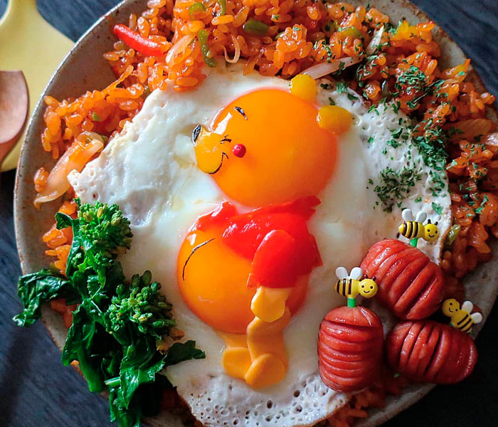 This Mom Of Three From Japan Has Eggstraordinary Skills To Make Cute Fried Egg Meals