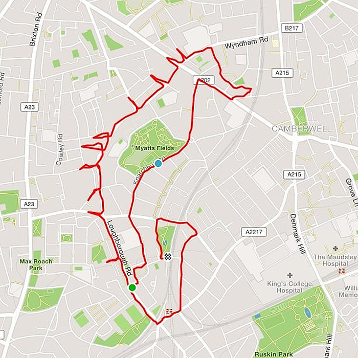 Jogger Turns Running Routes Into Fun Animal Artwork Using A GPS Tracker
