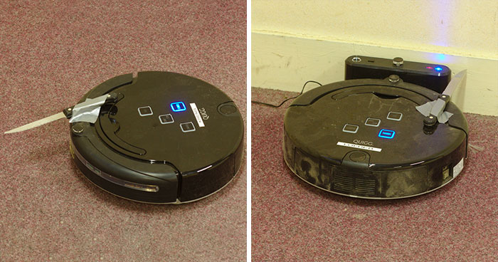 "This ""Knife Roomba"" Story Is Going Viral And It Perfectly Illustrates How Aliens Would Probably Find Humankind Weird"