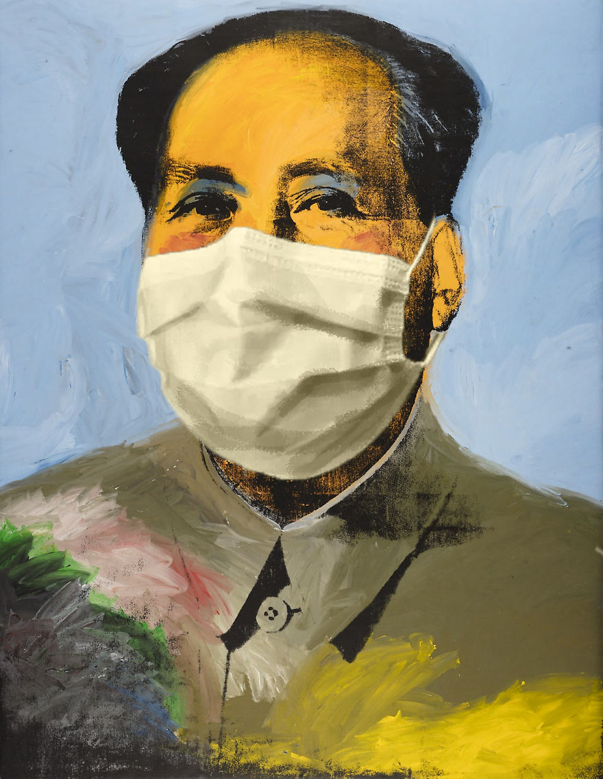 Chairman Mao By Andy Warhol, 1972