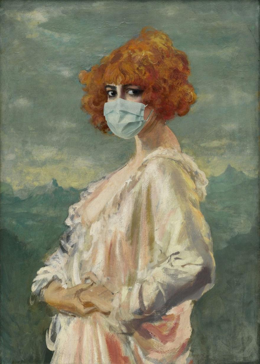 Marchesa Casati By Augustus John, 1912