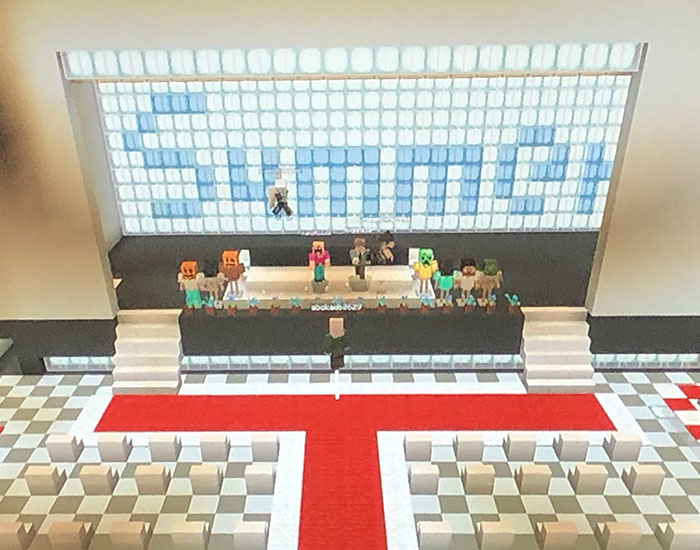 Due To The Coronavirus Outbreak, Japanese Students Had Their Graduation Ceremony In Minecraft