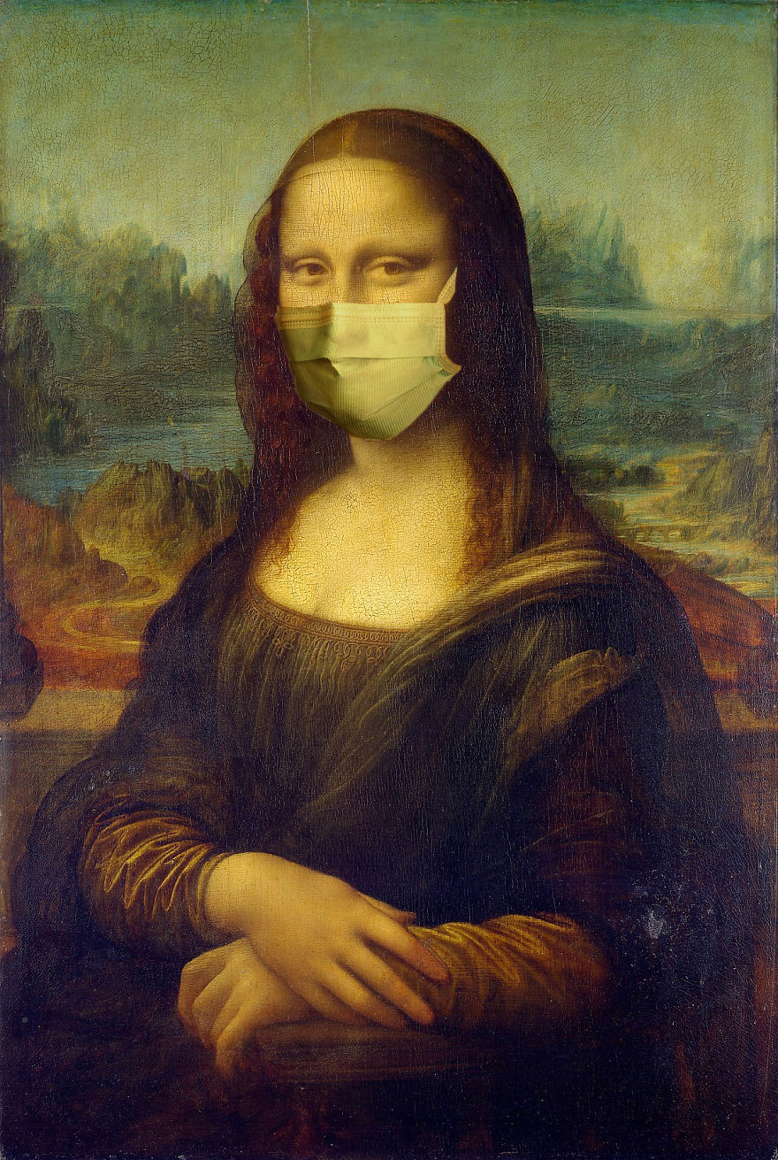 Mona Lisa By Leonardo Da Vinci, 1503