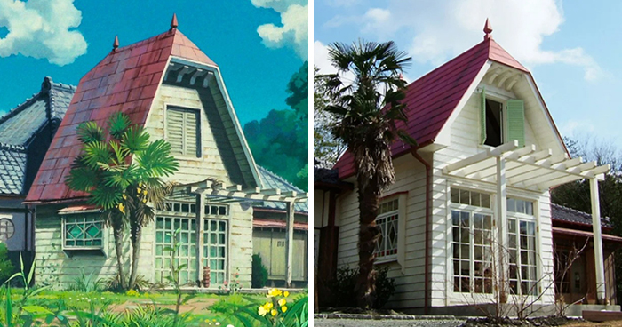 This House Built Just Like The One You Saw In 'My Neighbor Totoro' Is Complete With Almost Identical Furnishings, Exterior, And Interior