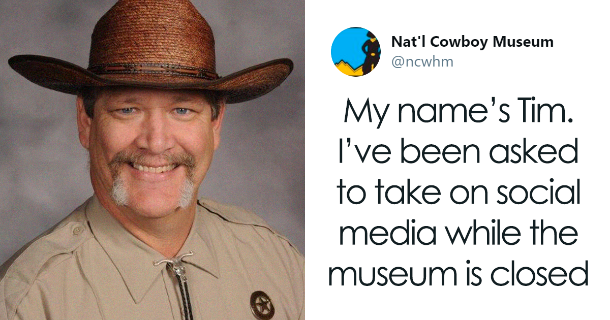 Cowboy Museum's Head Of Security Takes Over Twitter, Comedy Gold Ensues