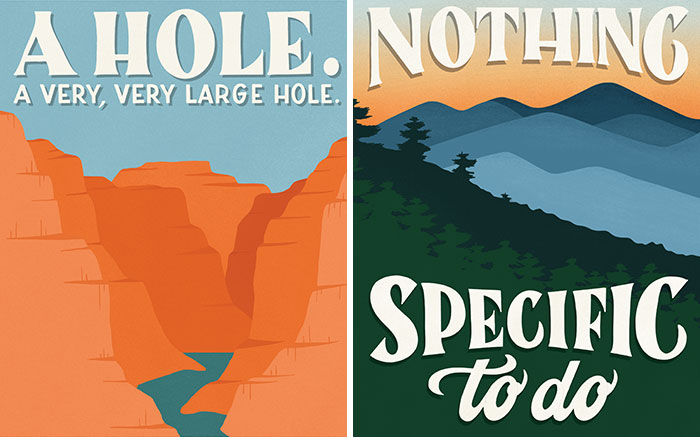 I Illustrated National Parks In America Based On Their Worst Review And I Hope They Will Make You Laugh (16 Pics)
