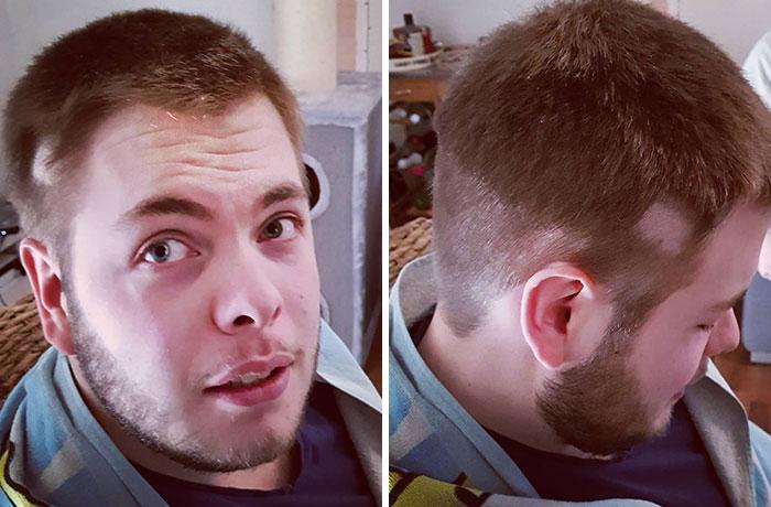 Corona Haircut